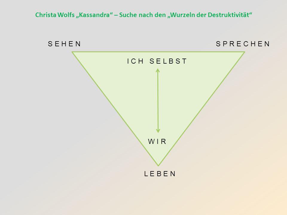 """Christa Wolfs """"Kassandra – Suche nach den """"Wurzeln der Destruktivität"""