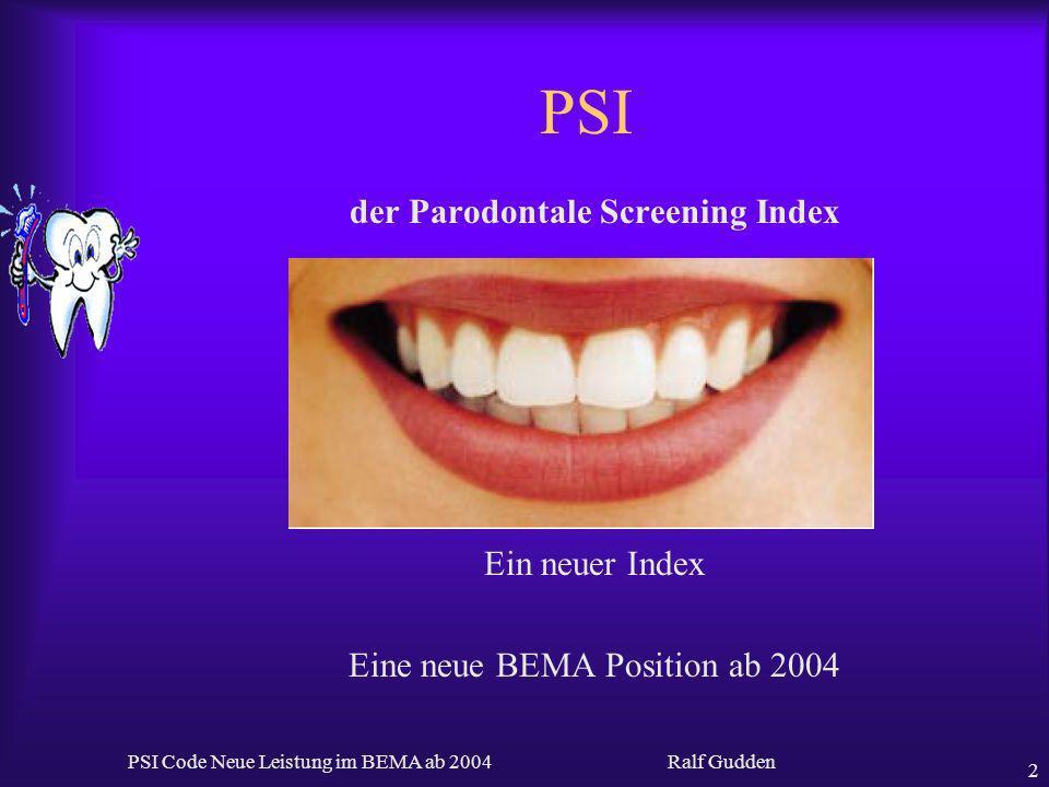 der Parodontale Screening Index