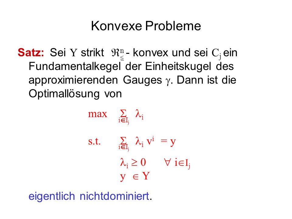 Konvexe Probleme