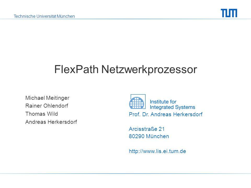 FlexPath Netzwerkprozessor