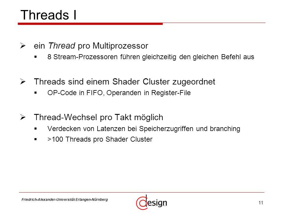Threads I ein Thread pro Multiprozessor