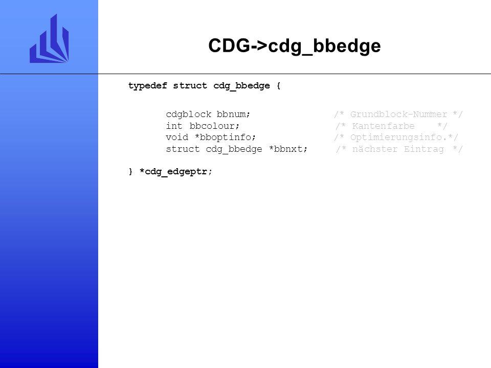 CDG->cdg_bbedge typedef struct cdg_bbedge {