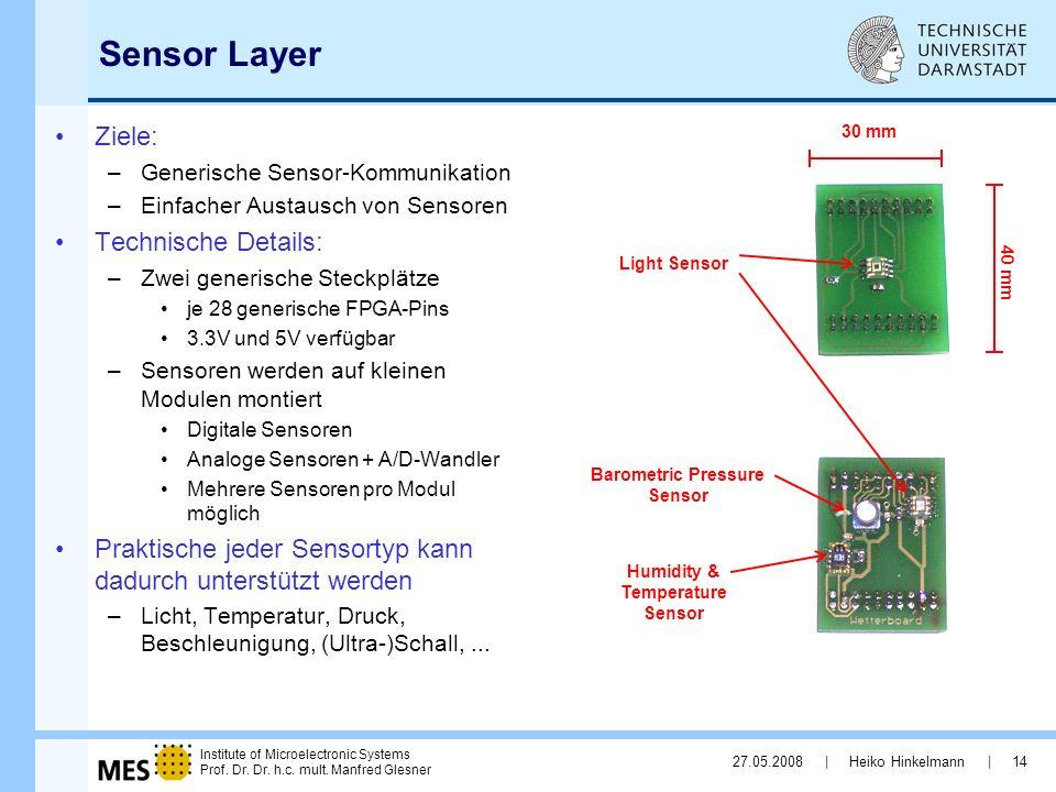 Barometric Pressure Sensor Humidity & Temperature Sensor