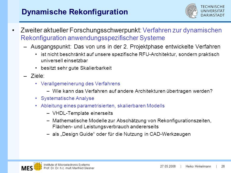 Dynamische Rekonfiguration