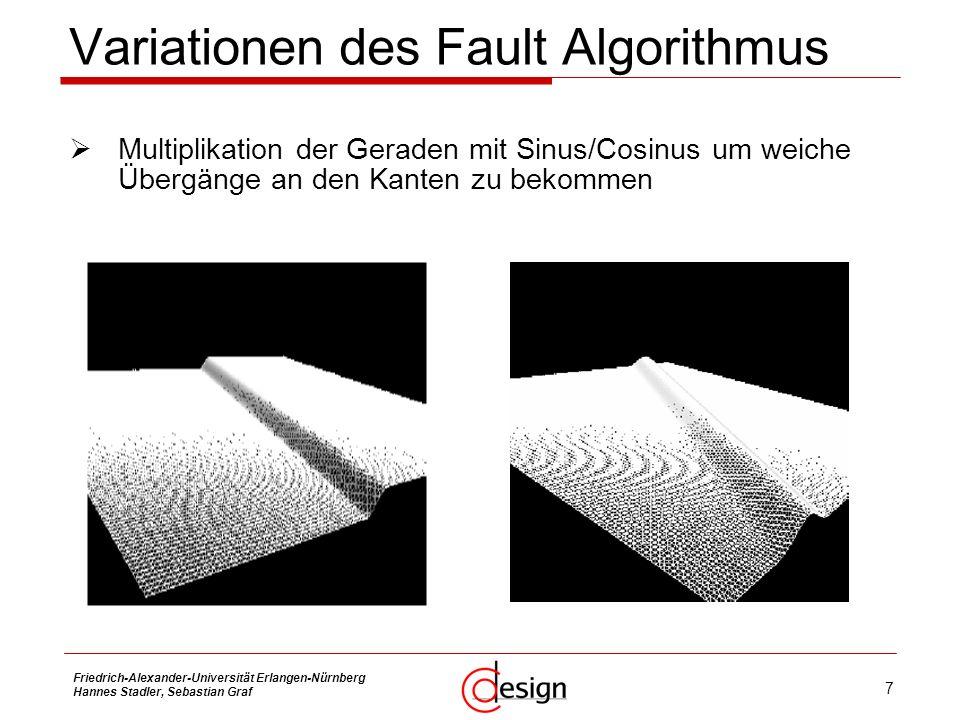 Variationen des Fault Algorithmus