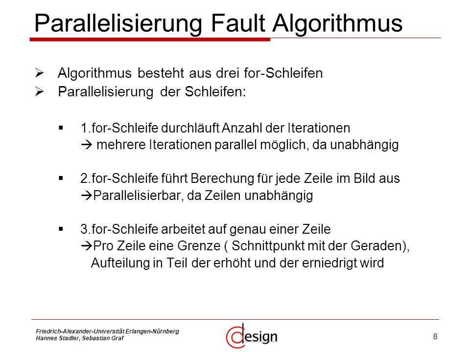 Parallelisierung Fault Algorithmus