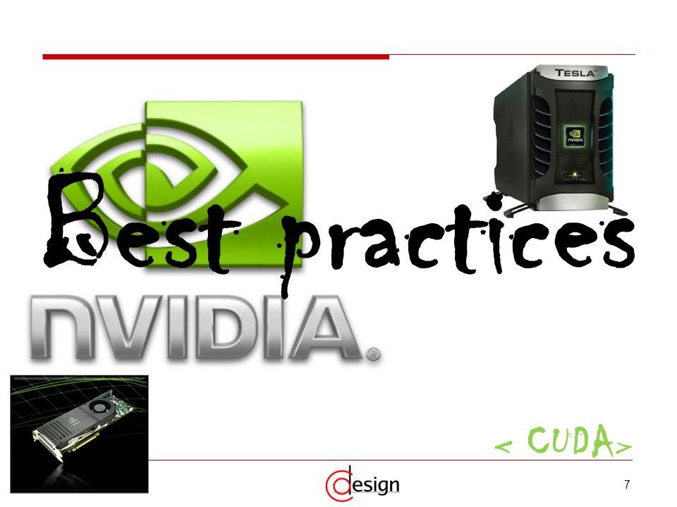 Best practices < CUDA>