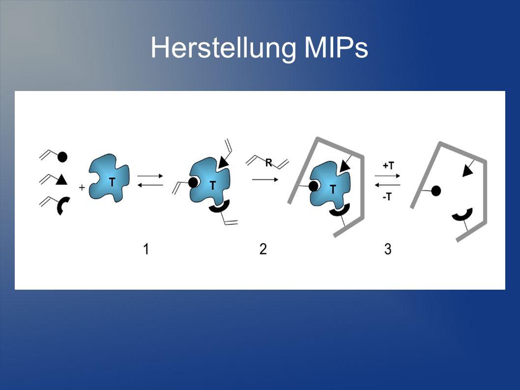 Herstellung MIPs