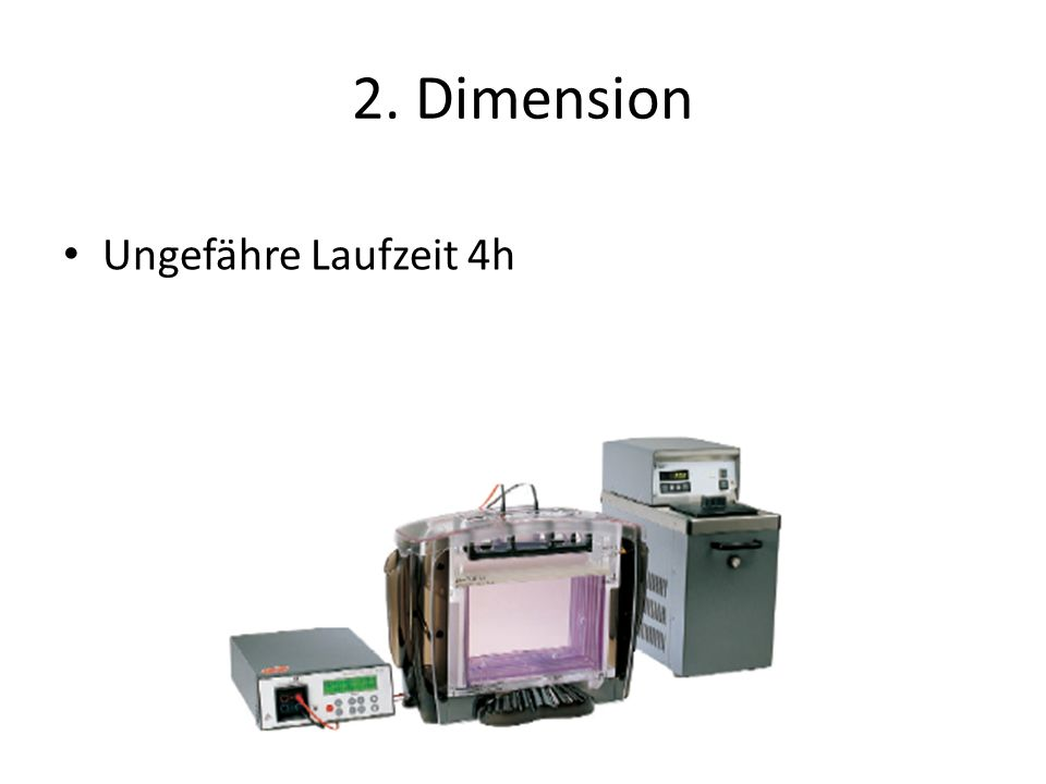 2. Dimension Ungefähre Laufzeit 4h