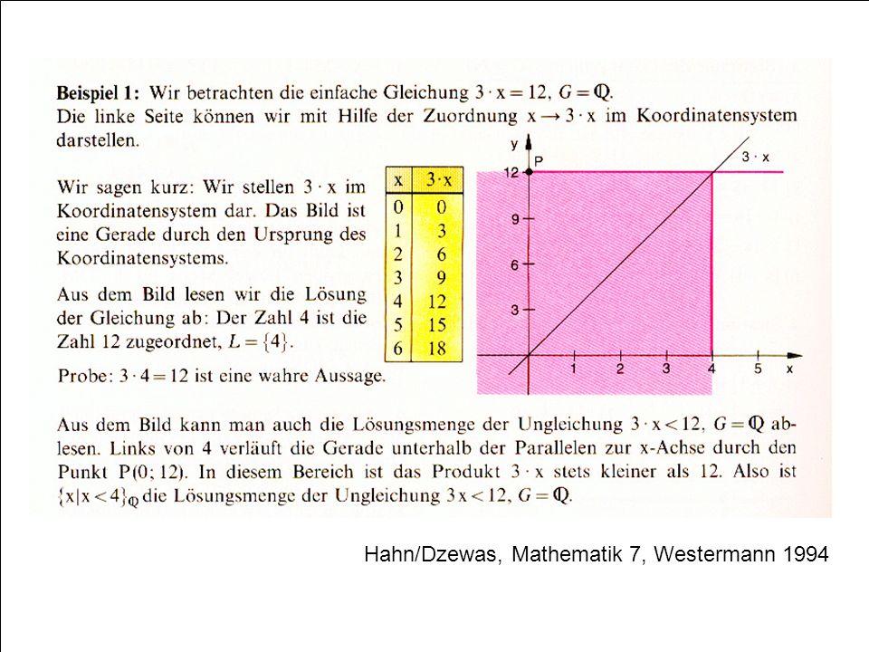 Hahn/Dzewas, Mathematik 7, Westermann 1994