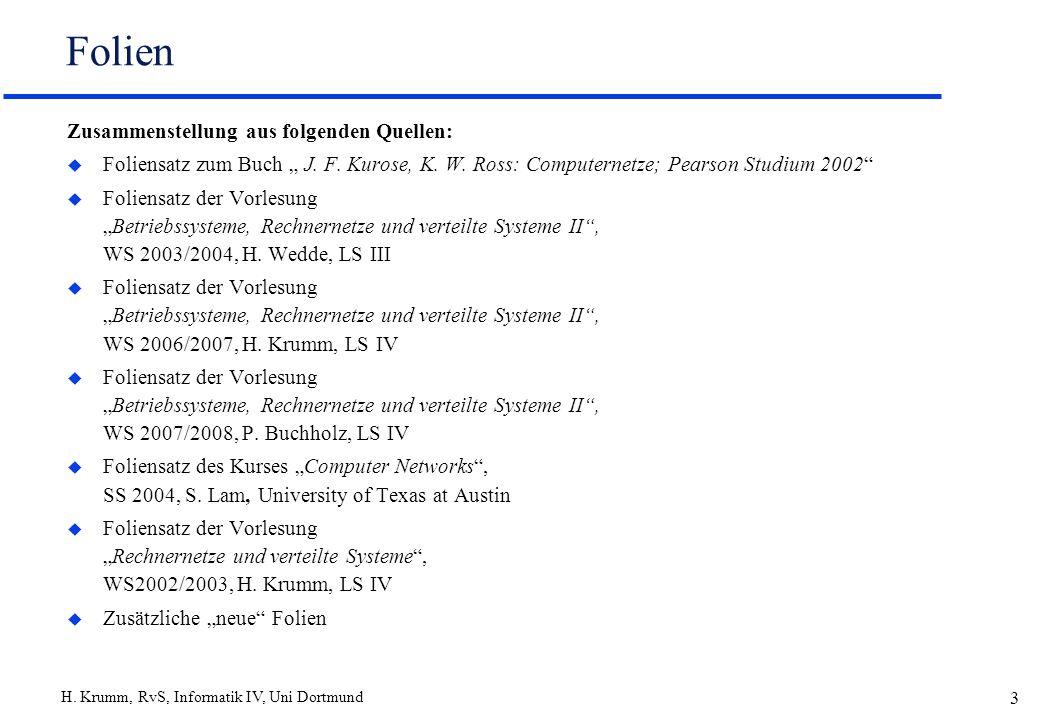 Folien Zusammenstellung aus folgenden Quellen: