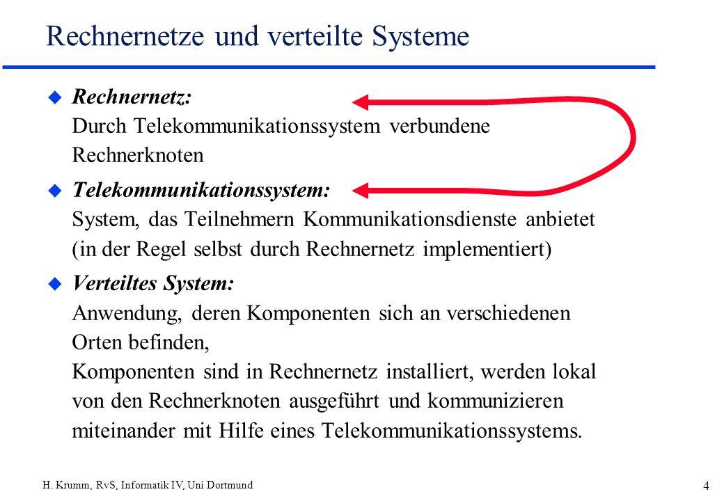Rechnernetze und verteilte Systeme