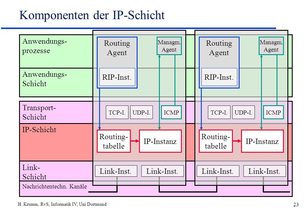 Komponenten der IP-Schicht