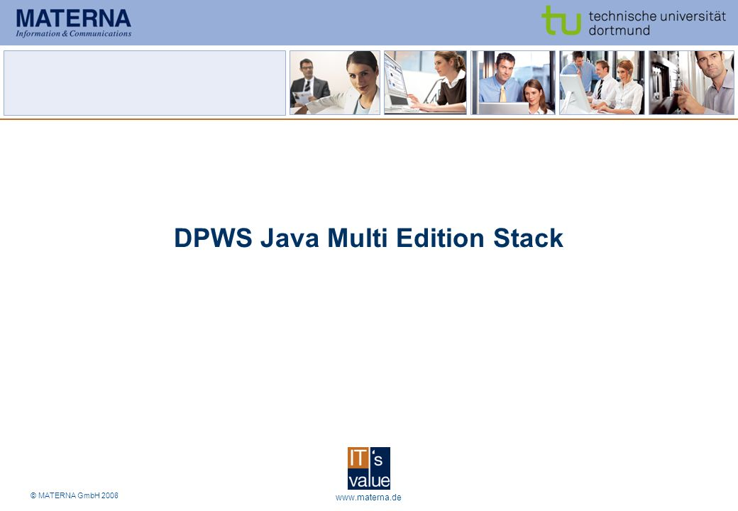 DPWS Java Multi Edition Stack