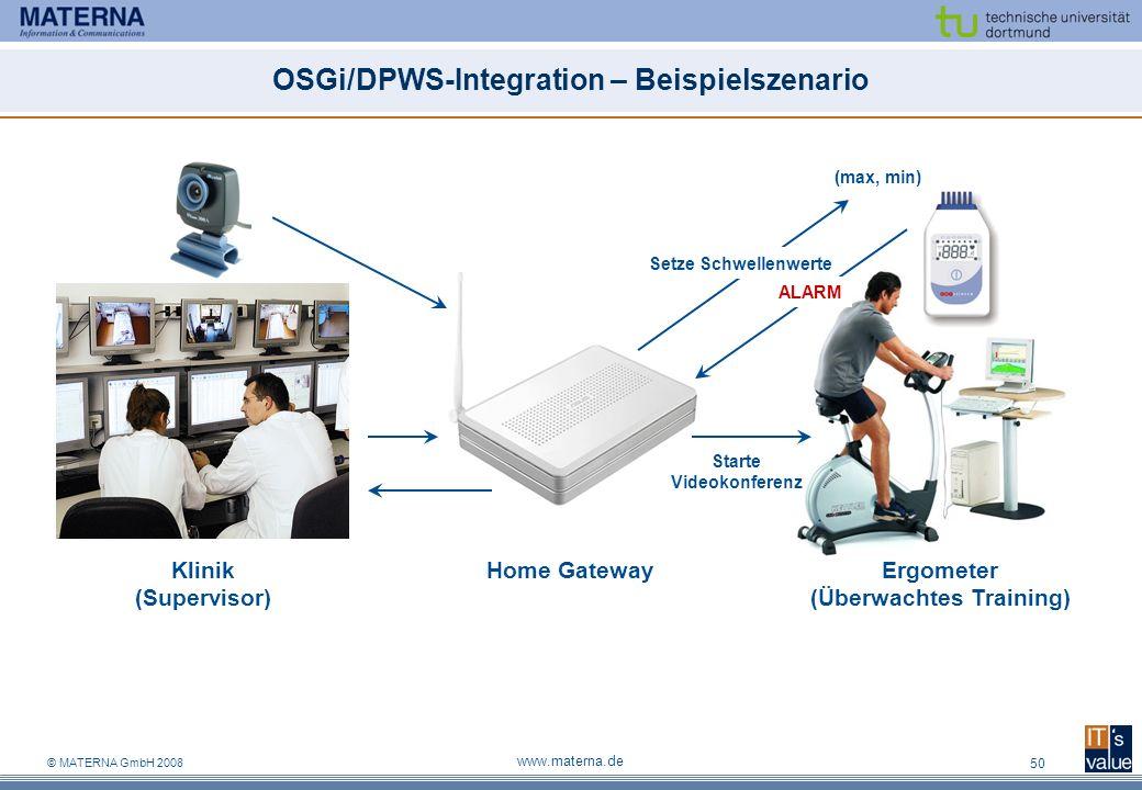 OSGi/DPWS-Integration – Beispielszenario