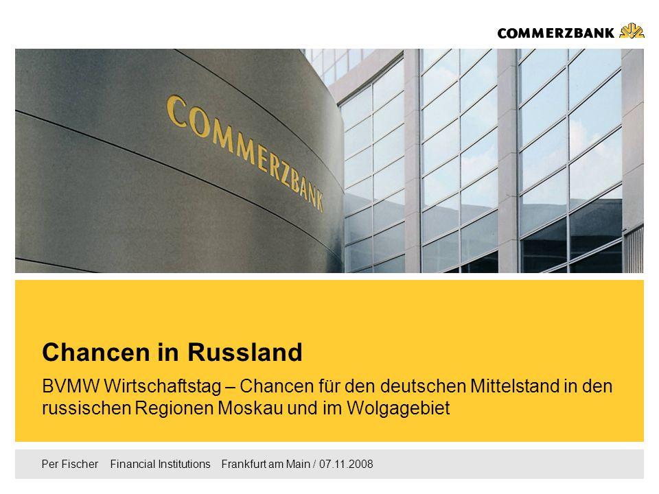 Chancen in Russland BVMW Wirtschaftstag – Chancen für den deutschen Mittelstand in den russischen Regionen Moskau und im Wolgagebiet.