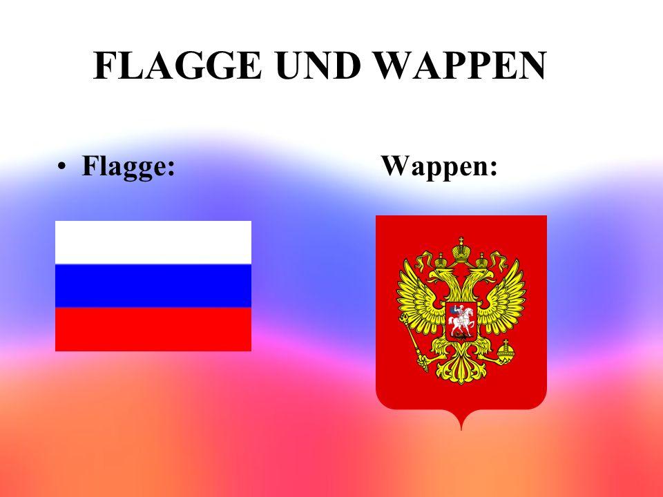 FLAGGE UND WAPPEN Flagge: Wappen: