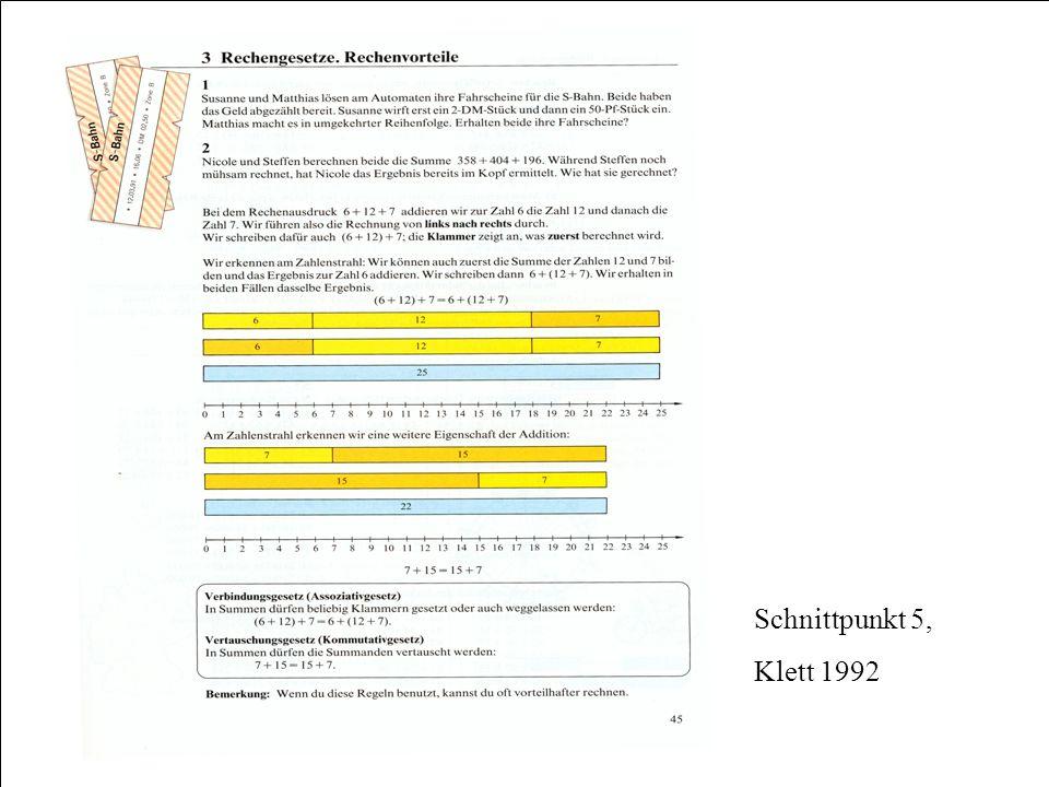 Schnittpunkt 5, Klett 1992