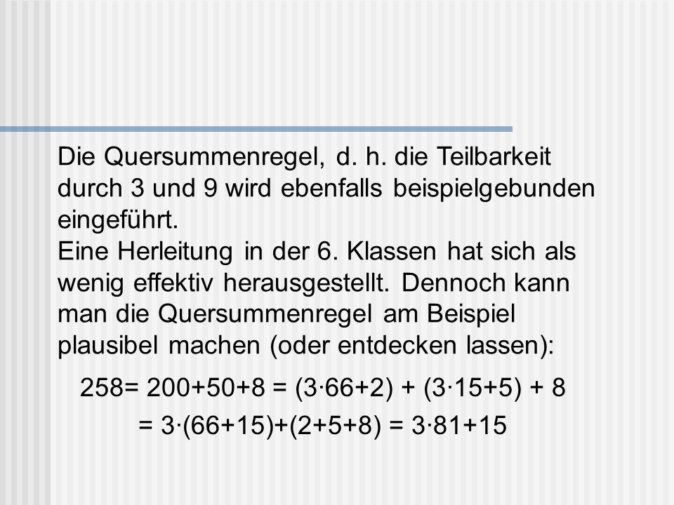 258= 200+50+8 = (3·66+2) + (3·15+5) + 8 = 3·(66+15)+(2+5+8) = 3·81+15