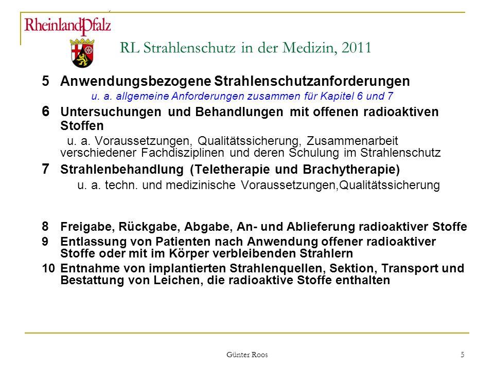 RL Strahlenschutz in der Medizin, 2011