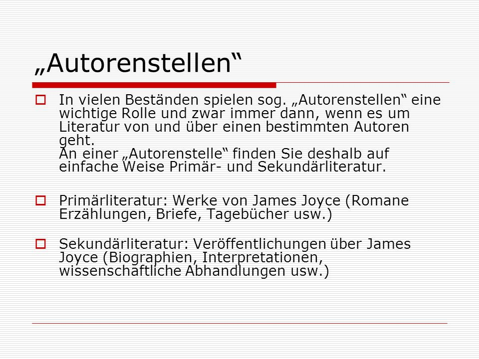 """Autorenstellen"