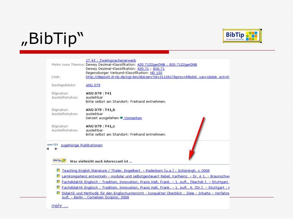 """""""BibTip"""
