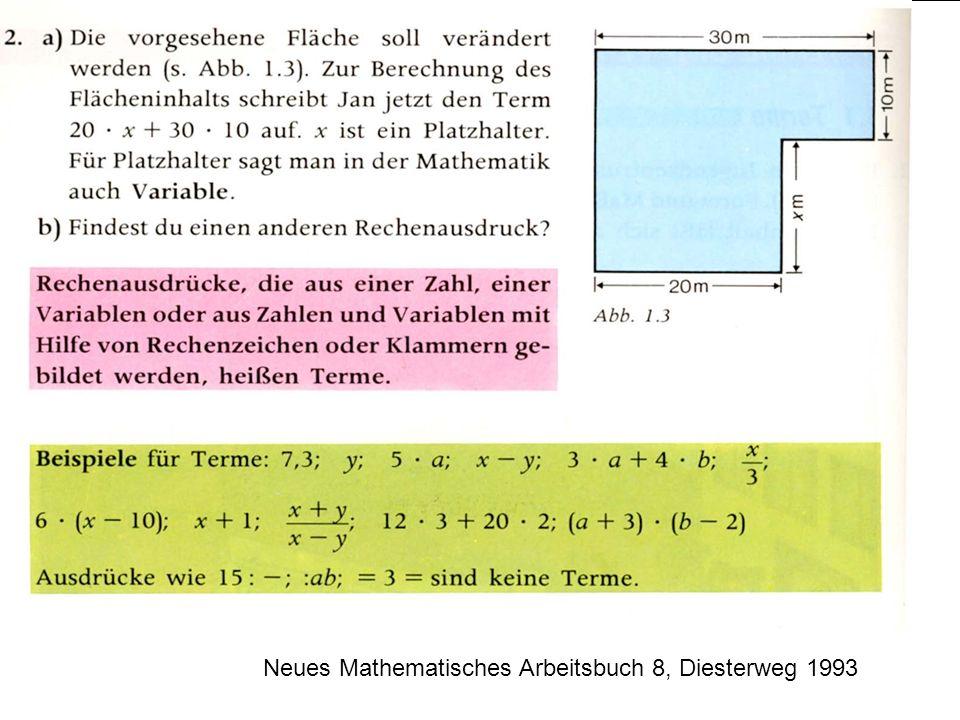 Neues Mathematisches Arbeitsbuch 8, Diesterweg 1993