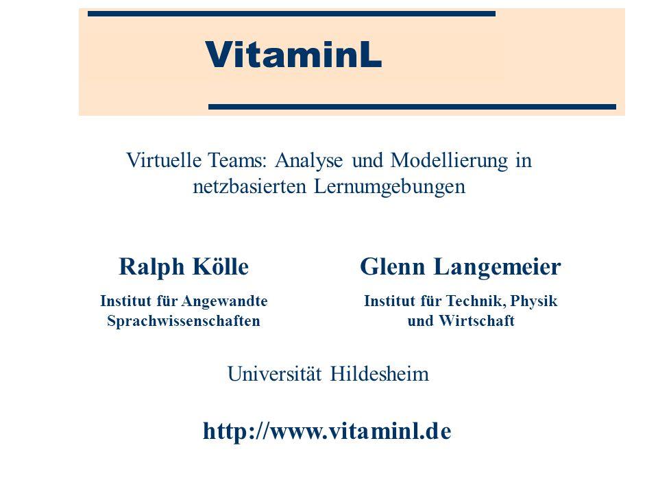 VitaminL Ralph Kölle Glenn Langemeier http://www.vitaminl.de