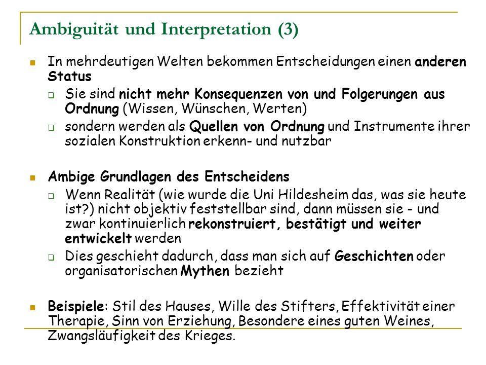Ambiguität und Interpretation (3)