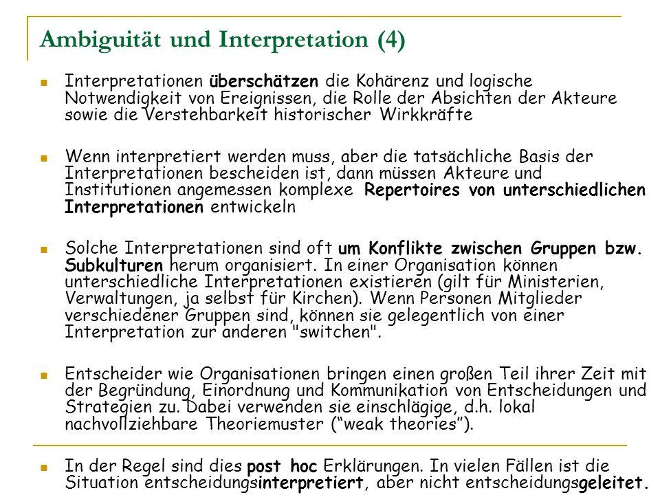 Ambiguität und Interpretation (4)