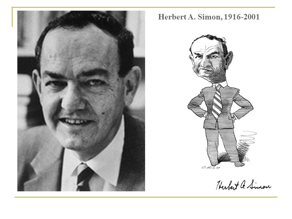 Herbert A. Simon, 1916-2001