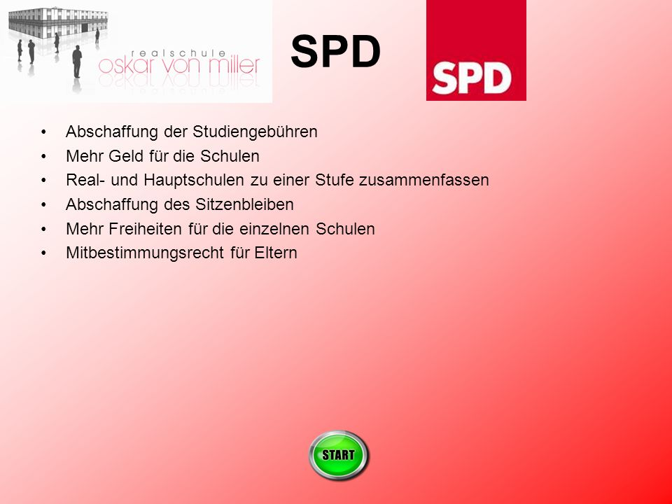 SPD Abschaffung der Studiengebühren Mehr Geld für die Schulen