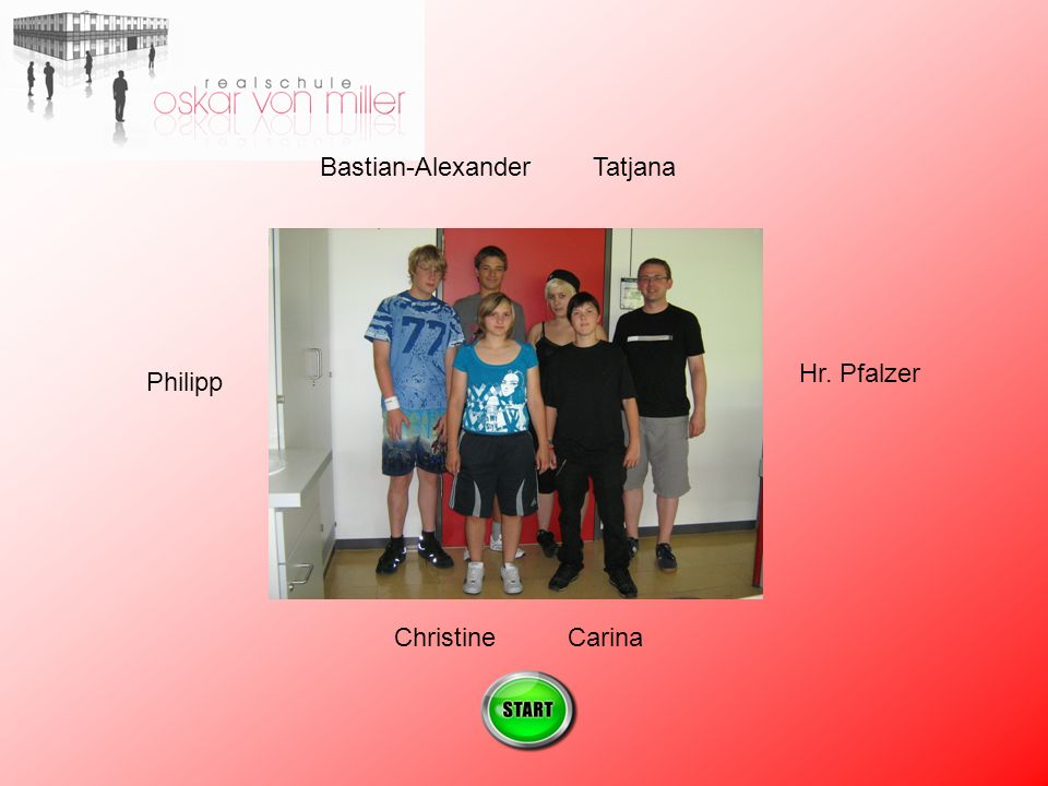Bastian-Alexander Tatjana Hr. Pfalzer Philipp Christine Carina