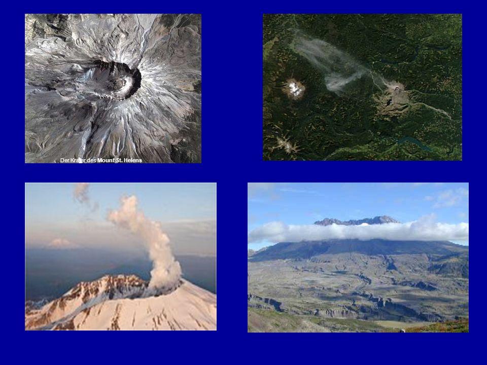 Der Krater des Mount St. Helens