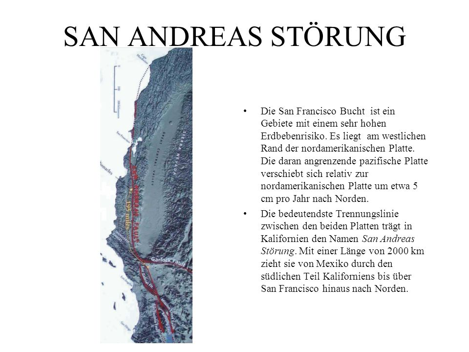 SAN ANDREAS STÖRUNG