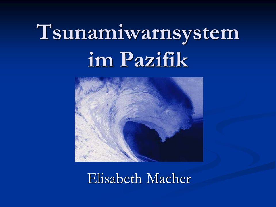 Tsunamiwarnsystem im Pazifik