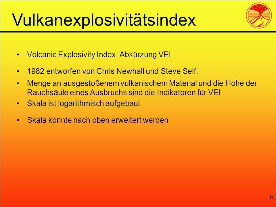 Vulkanexplosivitätsindex