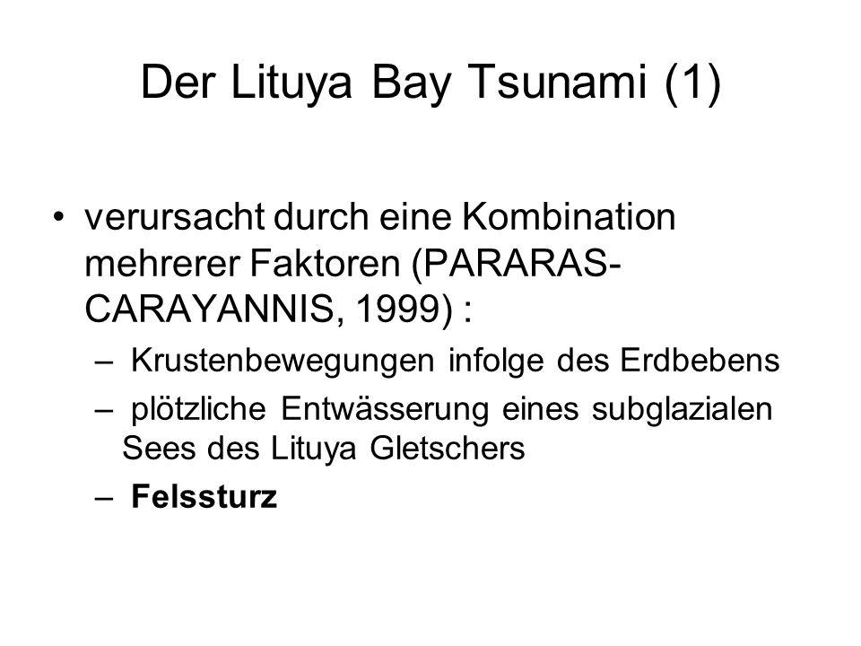 Der Lituya Bay Tsunami (1)