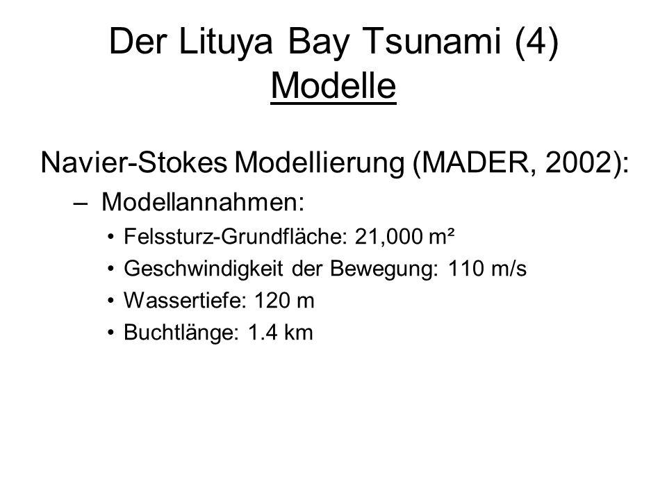 Der Lituya Bay Tsunami (4) Modelle