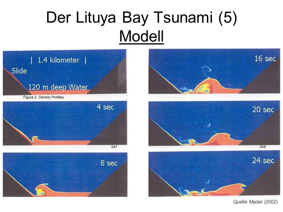 Der Lituya Bay Tsunami (5) Modell