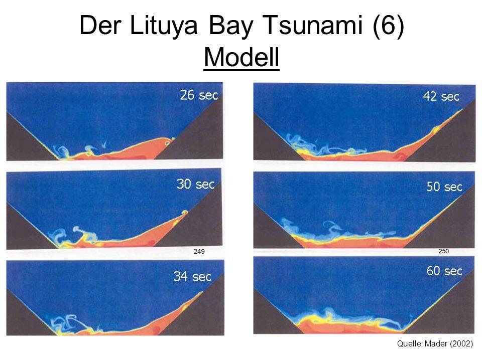Der Lituya Bay Tsunami (6) Modell