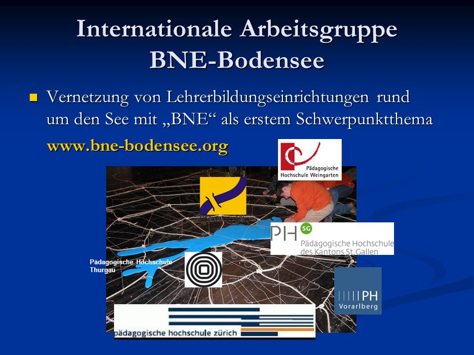 Internationale Arbeitsgruppe BNE-Bodensee