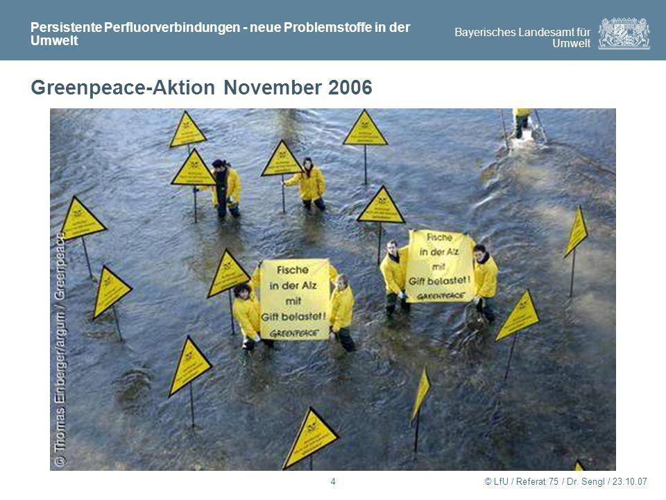 Greenpeace-Aktion November 2006