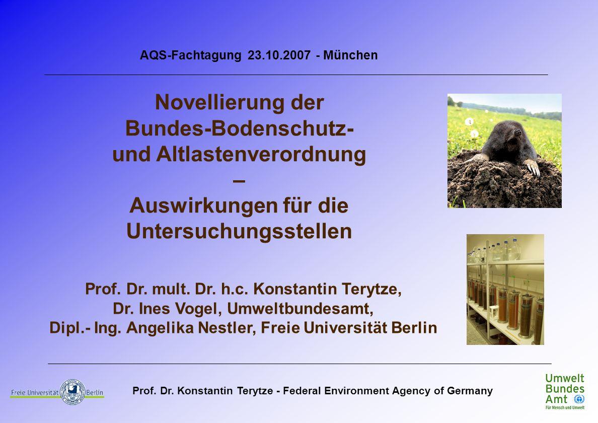 Bundes-Bodenschutz- und Altlastenverordnung –