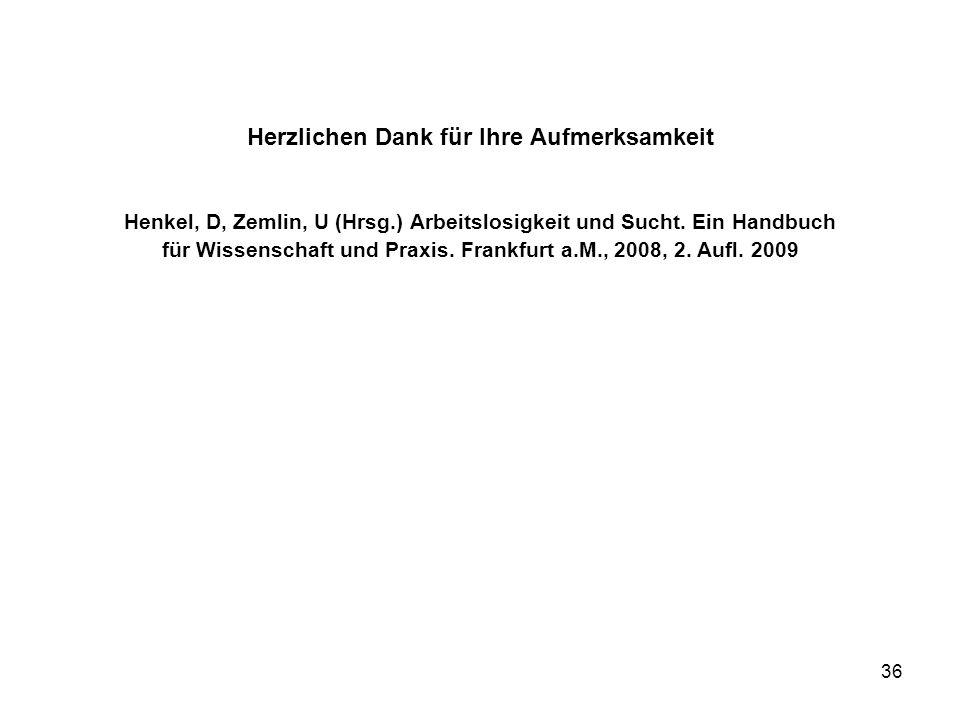 Herzlichen Dank für Ihre Aufmerksamkeit Henkel, D, Zemlin, U (Hrsg