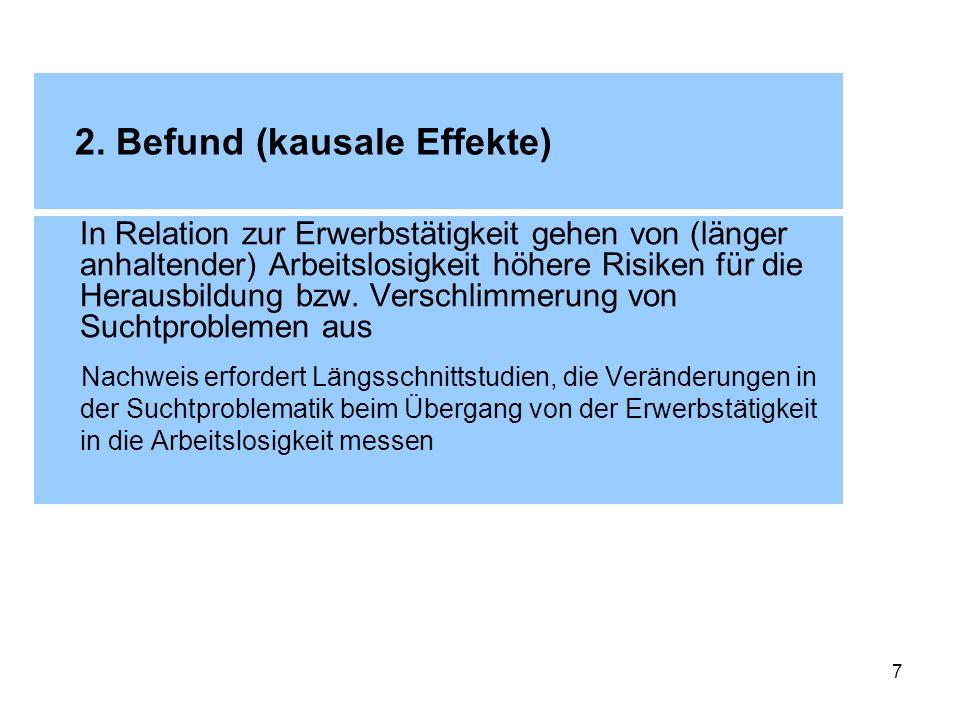 2. Befund (kausale Effekte)