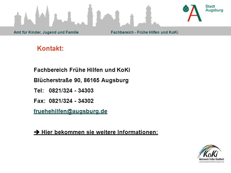 Kontakt: Fachbereich Frühe Hilfen und KoKi