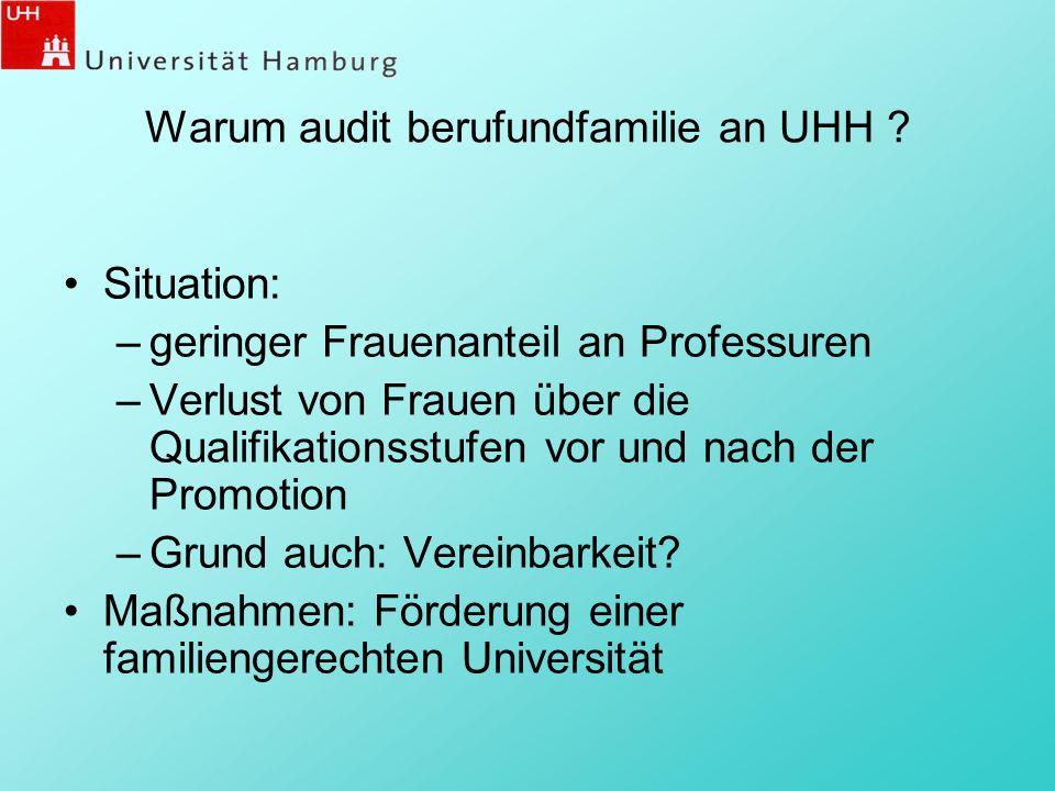 Warum audit berufundfamilie an UHH