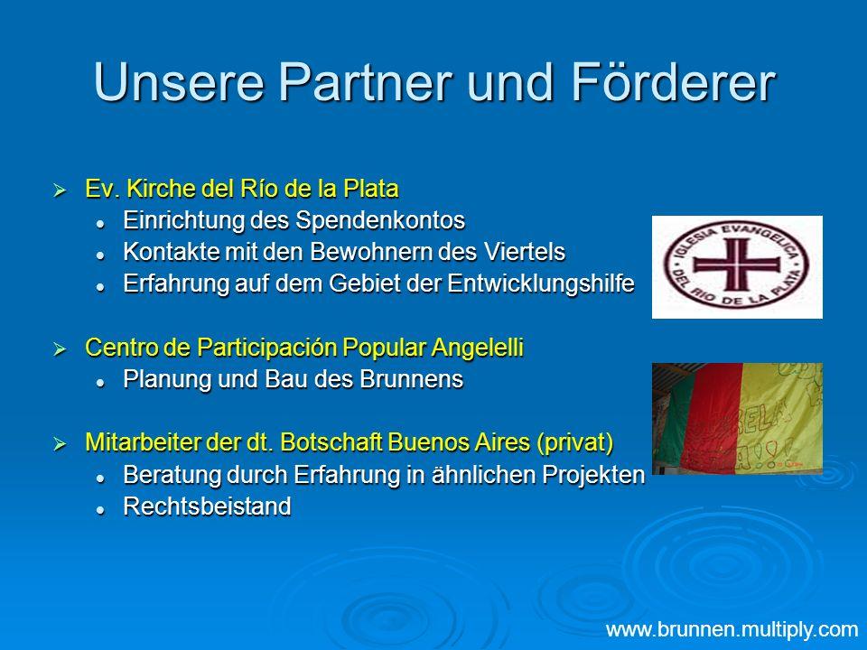 Unsere Partner und Förderer