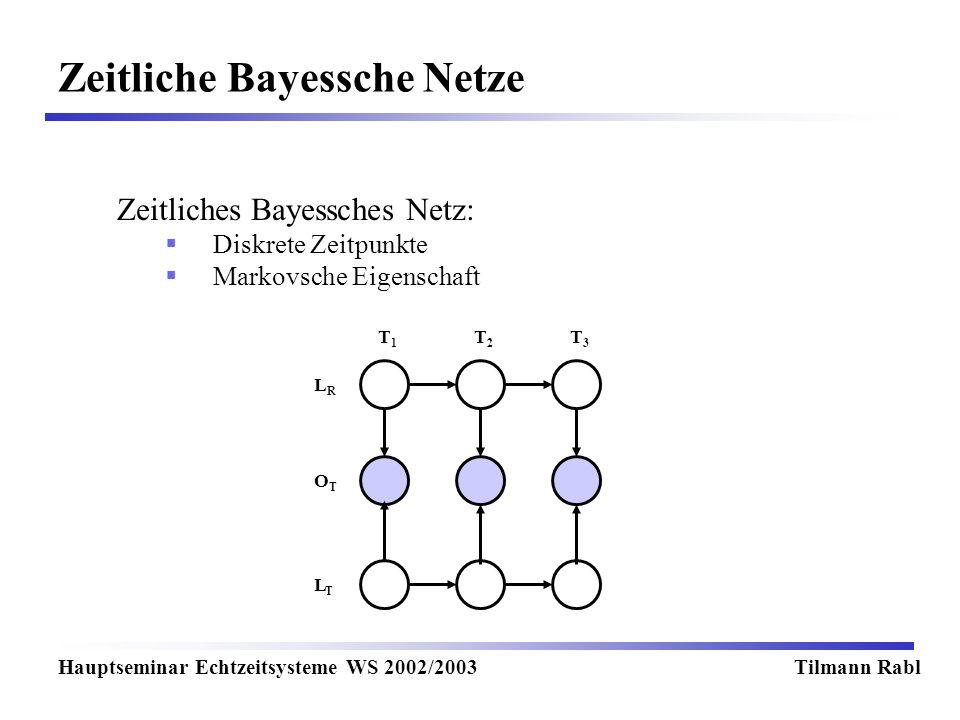 Zeitliche Bayessche Netze